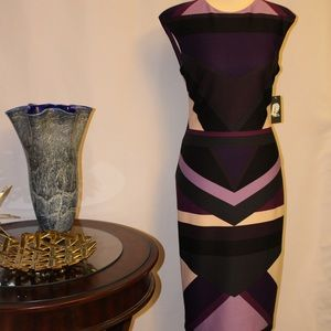 NWT. Vince Camuto Elegant dress.